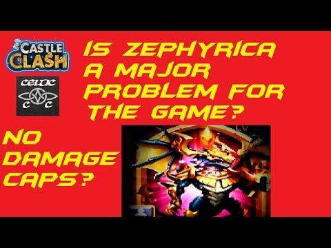 Is Zephyrica A Major Problem For The Game? Castle Clash