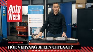 Joep legt uit - Uitlaat - AutoWeek Onderhoud