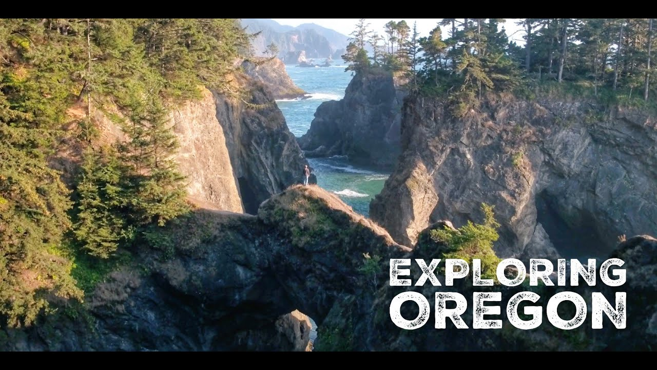 Exploring Oregon 1.0 | Scenic Oregon Drone Video