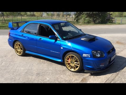 2004 Subaru Wrx Sti Walkaround Interior Cold Start And Revs Stage 2 356 Hp Blobeye