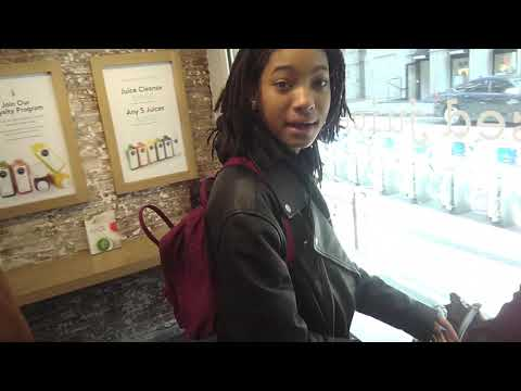 Willow Smith in coffee shop on GTV Reality