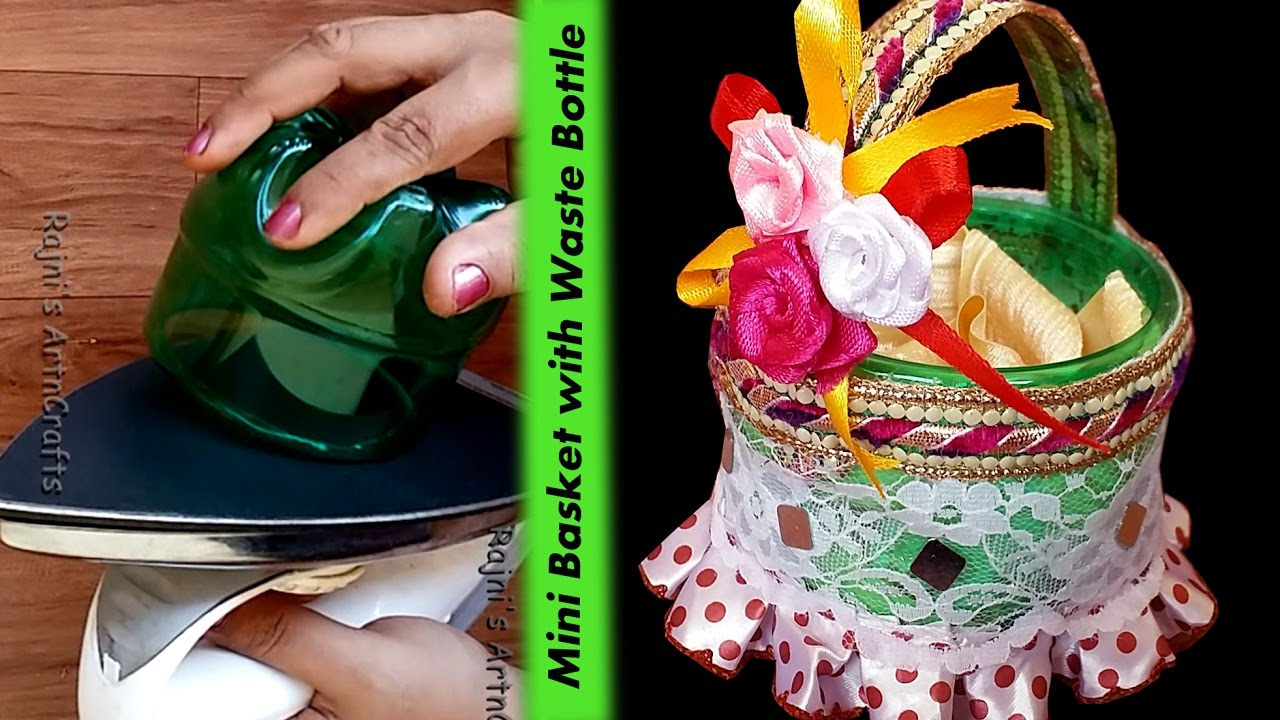Creative Ideas Art And Crafts How To Make Beautiful Mini Basket