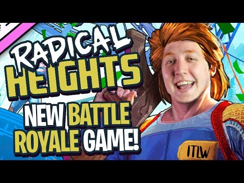 NEW + FREE BATTLE ROYALE GAME - Radical Heights