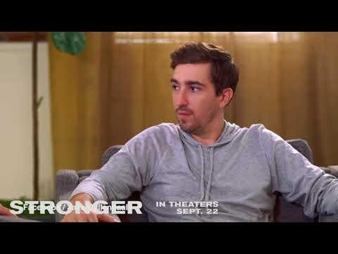 Jake Gyllenhaal & Jeff Bauman of 'Stronger' hilarious interview
