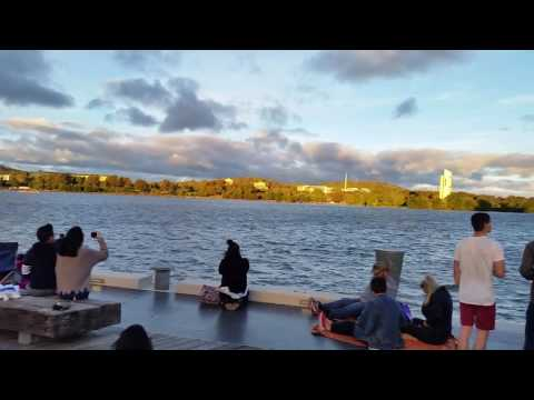 Canberra skyfire 2017  F-18