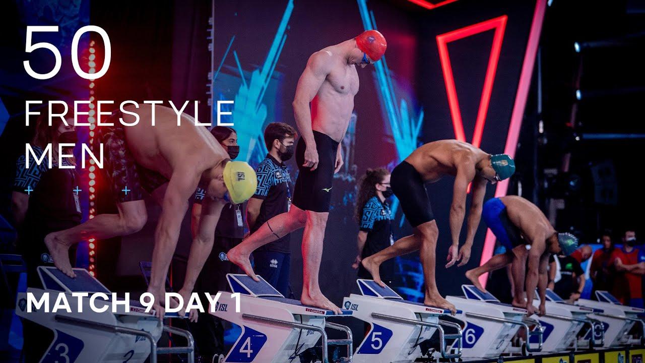 Download ISL SEASON 3 | MATCH 9 DAY 1 Men's 50m Freestyle