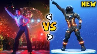 ALL FORTNITE DANCES IN REAL LIFE! (Disco Fever, Moon Walk) *NEW 2018*