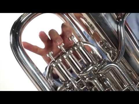 Euphonium Etude - Section B - Grace Notes