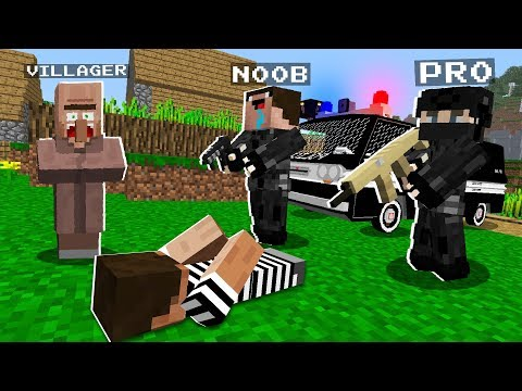 NOOB And PRO Joined The FBI! What Happened? NOOB Vs PRO! Challenge In Minecraft 100% Trolling
