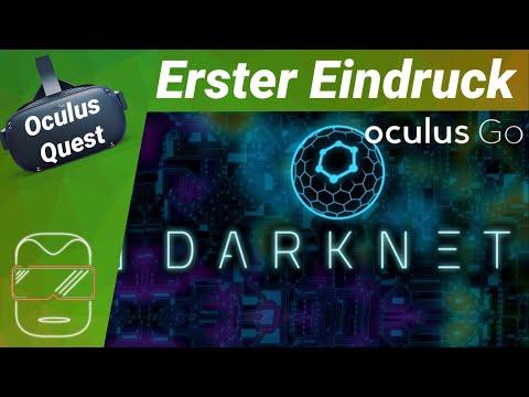 Oculus Quest - Darknet: Strategie Spiel VR [deutsch] Erster Eindruck Review Trailer Virtual Reality
