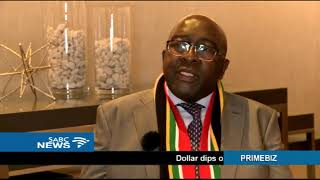 Finance Minister Nene on an investors roadshow in London