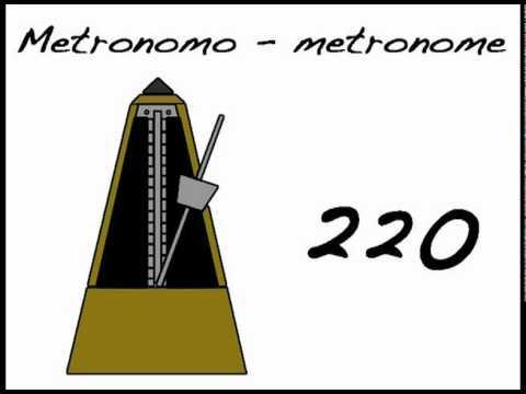 METRONOME 220 - METRONOMO 220