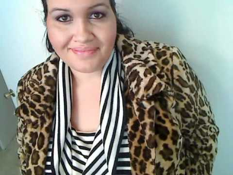 bcdf47c65c Winter Plus Size Fashion  Leopard Print Faux Fur Coat Outfit of the Day -  YouTube