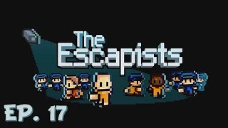 The Great Prison Escape! - Day. 17 - The Escapists - Let's Play