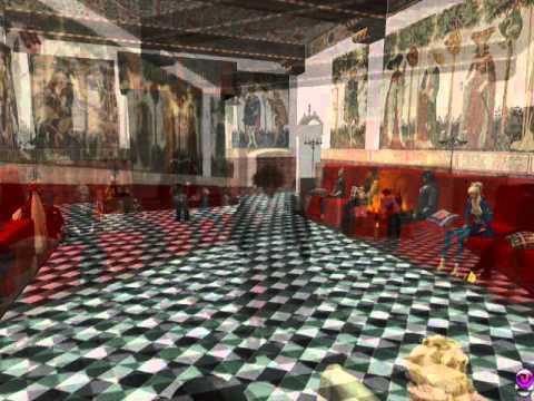 Rocca Medievale di Torino su Second Life - Medieval Castle of Turin