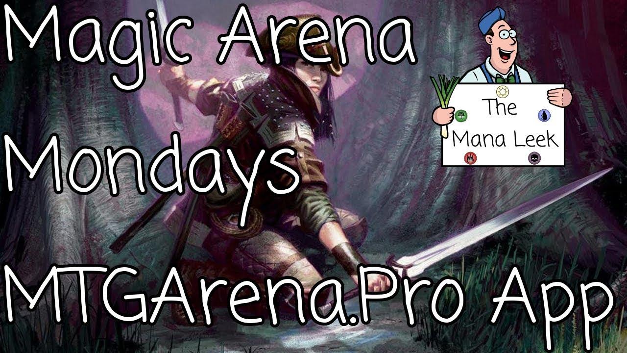 MTGArena Pro Tracking App - Magic Arena Mondays