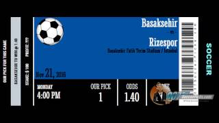 Basaksehir vs Rizespor PREDICTION (by 007Soccerpicks.com)