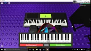 Roblox Piano. Let Her Go.