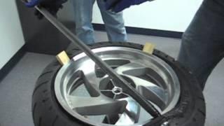 Honda Goldwing GL1800 Rear Tire Change