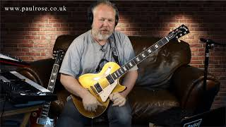 Paul Rose - Gibson Les Paul Standard 50s 2019.