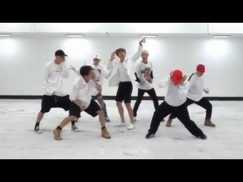 BTS 'FIRE' mirrored Dance Practice