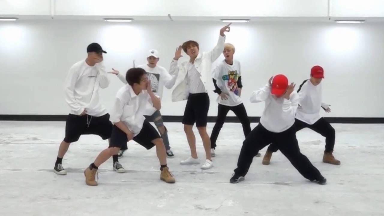 BTS 'FIRE' mirrored Dance Practice