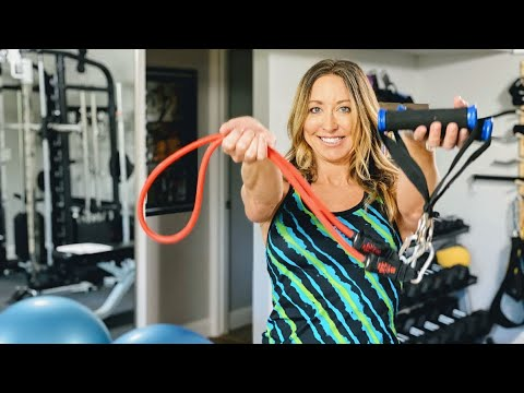 Resistance Bands Workout for Beginners and Seniors