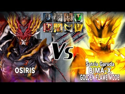 OSIRIS - Satria Heroes Game Indonesia Bagian.05 - Wah Golden Flame Mode Bima X.