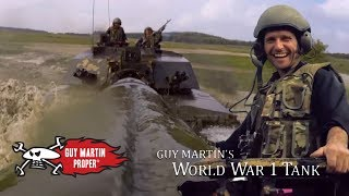 Guy's day with the Challenger 2 Tank | Guy Martin Proper