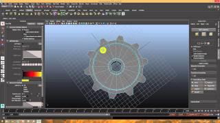 Уроки по Autodesk Maya. Делаем шестеренку и некоторые фишки