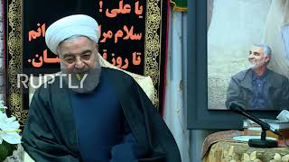 Iran: Rouhani issues warning to the US during visit to family of Gen. Soleimani