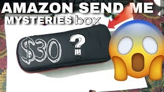 Amazon send me mysteries box $30(must watch)2018.