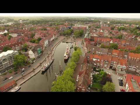 Emden von oben