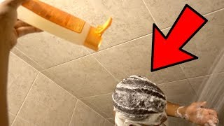 EXTREME SHAMPOO PRANK ON AR'MON!!! (Goes Crazy)