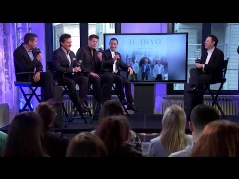 IL DIVO Interview New York, 10-2-2016