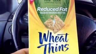 Nabisco Wheat Thins are not Heart Friendly, let alone have too much sugar. Whole grain lies.