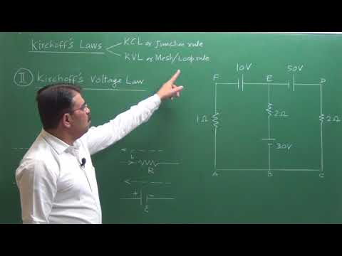 Vivek Phalke PHYSICS - Kirchoffs Laws ( KCL & KVL )