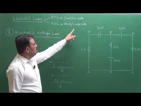 Kirchhoff's Laws ( KCL & KVL)