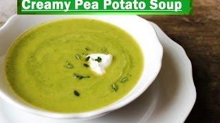 Creamy Pea Potato Soup