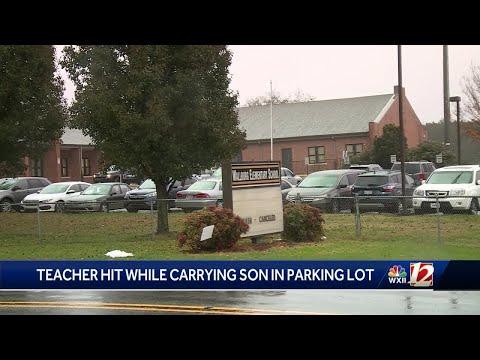 Teacher, child struck by motorist outside Wallburg Elementary School