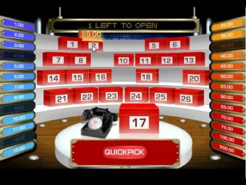 Play Deal Or No Deal Online For Free