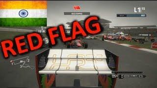 F1 2012 Career Mode Part 17: India (Cucumber Challenge)