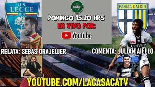 ⚽🔴lecce Vs Parma | En Vivo   Serie A