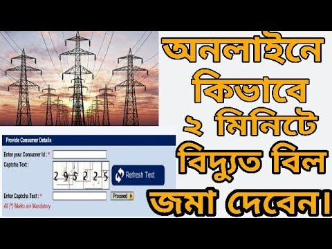 How To Pay Electricity Bill At Home | Pay Bill Online | Bang