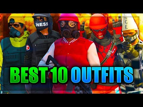 Top 10 Best TryHard & RnG Modded Outfits In GTA 5 After Patch 1.41! (Best Clothing Glitches 1.41)
