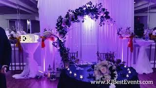 Everett & Priyanka Wedding Reception- RJ Best Events