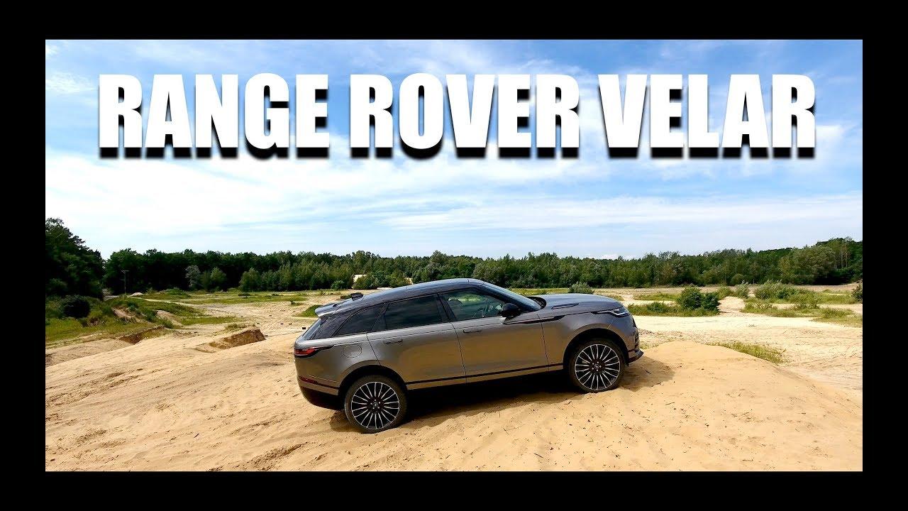 Range Rover Velar (PL) – test i jazda próbna