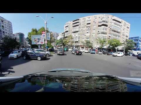 Driving In Bucharest 2017 09 13 - Samsung Gear 360 2017 test footage