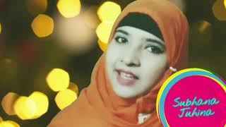Apne malik ka main naam le kar very beautiful naat full hd YouTube video by Subhana Juhina