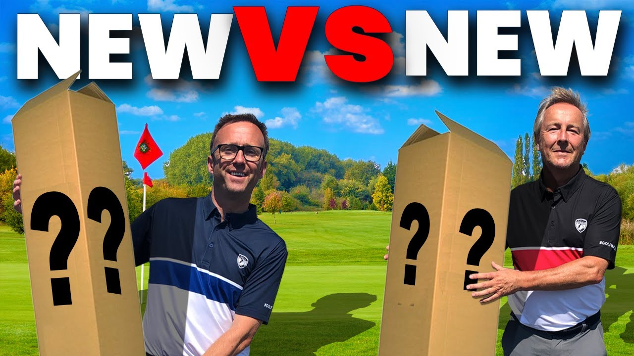 NEW GOLF CLUBS VS NEW GOLF CLUBS IN GOLF MONEY MATCH!